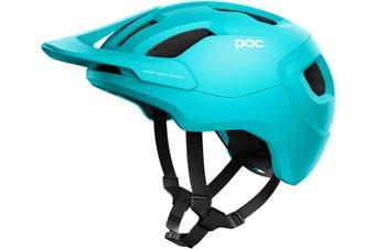 POC Axion SPIN MTB Bike Helmet Kalkopyrit Blue Matte