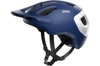 POC Axion SPIN MTB Bike Helmet Lead Blue Matte