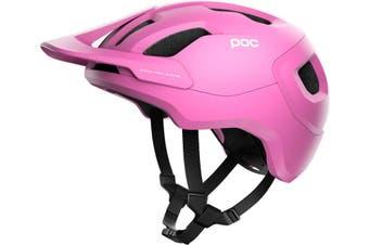 POC Axion SPIN MTB Bike Helmet Actinium Pink Matte