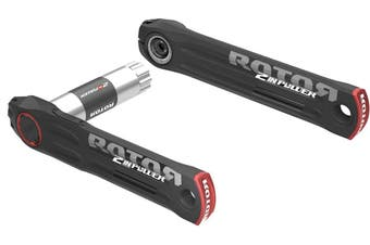 Rotor 2INpower DM Road Power Meter Crankset Chassis 172.5mm