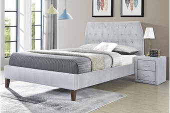 Angela Velvet Bed Frame -Velvet