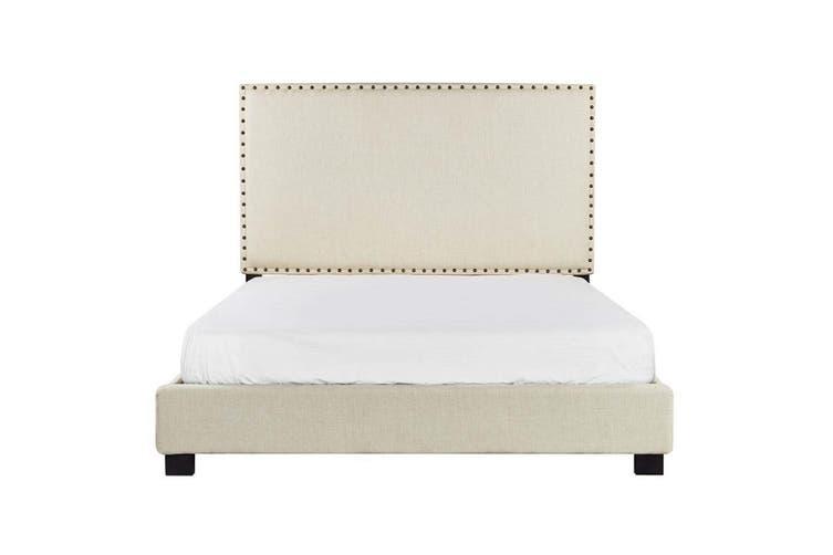 Elizabeth Fabric Bed-Queen