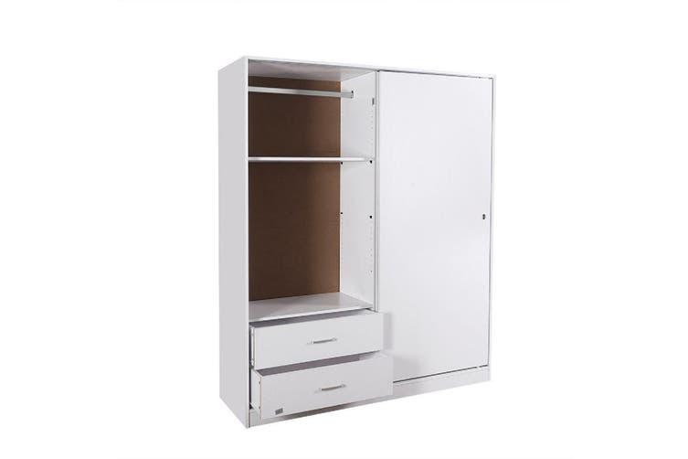 Redfern Sliding Door Wardrobe - White