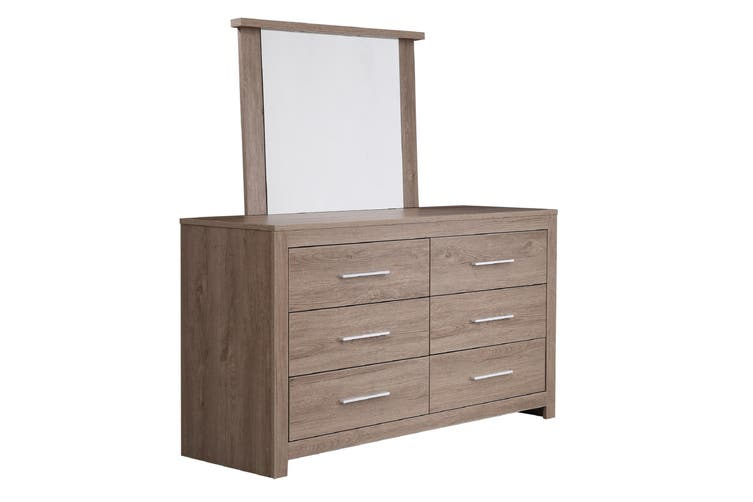 Jason Dresser/Lowboy With Mirror - Dark Oak