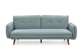 Sarah Sofa Bed-Light Blue