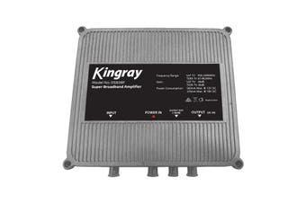 DSB38F KINGRAY Super Broadband Amplifier Kingray Fox App. # F30977  Frequency Range: FTA 47-862Mhz  SUPER BROADBAND AMPLIFIER