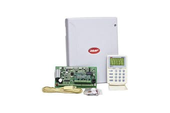 D8XLCD NESS 8 Zone Alarm Panel & Dialler LCD Keypad Ness  Supplied With Keypad, Plug Pack, Battery, Telephone Lead, Housing and Manuals.  8 ZONE ALARM PANEL & DIALLER