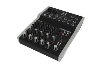 LMD0802 HILL AUDIO 8 In 2 Out Stereo Mixer Hill Audio