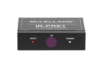IR-PRE1 MCLELLAND Preamp IR Volume Control   Stereo Line RCA Input and Output  PREAMP IR VOLUME CONTROL