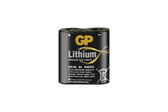 CRP2C1 GP 6V 1400Mah Lithium Battery Gp Eq To Dl223a  Voltage: 6V  6V 1400MAH LITHIUM BATTERY