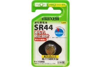 SR44W MAXELL 1.55V Button Cell Silver Oxide 357 Battery Maxell Sr44
