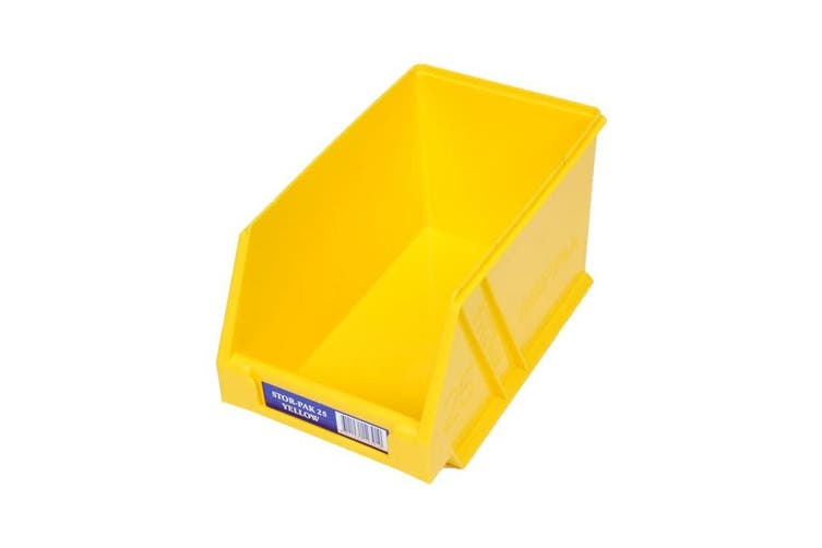 STB25Y FISCHER PLASTIC Regular Storage Drawer Yellow Stor-Pak Containers  Dimensions: 133Mm W X 220Mm D X 125Mm H  REGULAR STORAGE DRAWER YELLOW