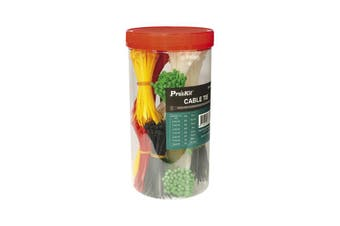 OP1200 PROSKIT 1200Pce Assorted Cable Ties Pro'skit    1200PCE ASSORTED CABLE TIES