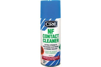 2017CRC CRC 400G Nf Contact Cleaner Crc  Chemically Stable and Evaporates Rapidly  400G NF CONTACT CLEANER