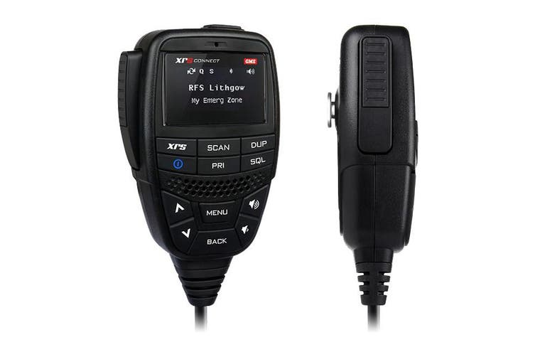 XRS370C GME 80Ch UHF Xrs Connect CB Radio Compact Hideaway Unit - GME  First Ever UHF CB Radio With App Control  80CH UHF XRS CONNECT CB RADIO