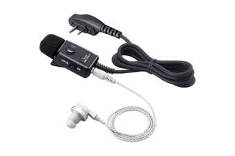 HM153LA iCom Earpiece Ptt Speaker Mic Suit Ic41w iCom    EARPIECE PTT SPEAKER MIC