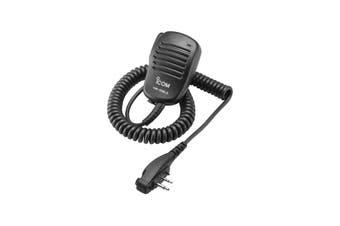HM158LA iCom Speaker Microphone With 90 Degree  Entry Ic41w Ic41s iCom    SPEAKER MICROPHONE WITH 90