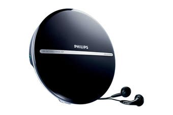 EXP2546  Philips Portable CD Player   Play CD, CD-R and CD-Rw Discs  PHILIPS PORTABLE CD PLAYER