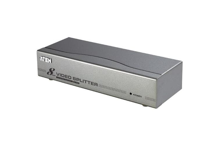 VS98A ATEN 8 Way VGA Video Distribution Amplifier Splitter    8 WAY VGA VIDEO DISTRIBUTION