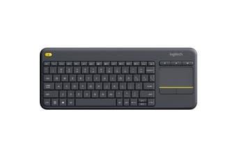 K400PLUS LOGITECH Wireless Touch Keyboard   Integrated Wireless Keyboard With Touchpad  WIRELESS TOUCH KEYBOARD