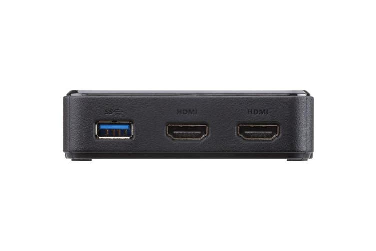 UH3233AT ATEN USB-C To Dual HDMI Displays Type-C 4K  Connects USB-C or Thunderbolt� 3 Computer To Two HDMI Monitors For Dual-Display Video Output  USB-C TO DUAL HDMI DISPLAYS