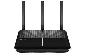 ARCHERVR600V TP-LINK Ac1600 Voip Vdsl Modem Router Vr600v 3G/ 4G Router  Ac1600 Dual-Band Wi-Fi � Two Separate Wi-Fi Bands Combine For Speeds of Up To 1900 Mbps: 300Mbps (2.4Ghz) and 1,300Mbps (5Ghz)