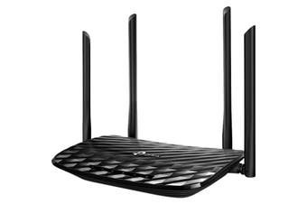 ARCHERA6 TP-LINK Ac1200 Mu-Mimo Giga Router Dual Band  4 External Antennas and One Internal Antenna  AC1200 MU-MIMO GIGA ROUTER