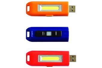 USBCOB PERFECT IMAGE Rechargeable Mini LED Cob With Magnet  2 Modes: Hi 65 Lumens / Low 22 Lumens  RECHARGEABLE MINI LED COB