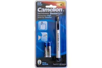 PL2AAA CAMELION Doctors Pen Light Torch Camelion  Durable Aircraft Aluminium Body  DOCTORS PEN LIGHT TORCH