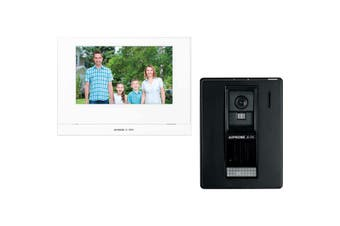 "JOS1AW AIPHONE 7"" Wireless Video Intercom Kit With Jo1mdw, Joda & P/S JOS1AW  Plastic Surface Mount Camera  7"" WIRELESS VIDEO INTERCOM KIT"