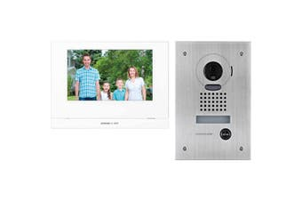 "JOS1FW AIPHONE 7"" Wireless Video Intercom Kit With Jo1mdw, Jodvf & P/S JOS1FW  Stainless Steel Flush Mount Camera  7"" WIRELESS VIDEO INTERCOM KIT"