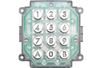 AC10U AIPHONE Access Keypad Only Requires Housing AC10U  Power Source 12 � 24V Ac/DC  ACCESS KEYPAD ONLY
