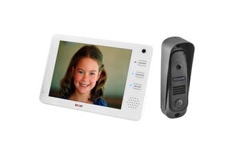 "DHF72C DOSS 7"" Video Hands Free Intercom With Cmos Camera Cam2c+2M Max  Capacitive Touch-Buttons  7"" VIDEO HANDS FREE INTERCOM"