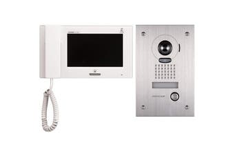 "JPS4AEDF AIPHONE 7"" Video Intercom Kit With Jp4med, Jpdvf & 24V P/S JPS-4AEDF  Expandable To 4 Entrance and 8 Internal Monitors  7"" VIDEO INTERCOM KIT"