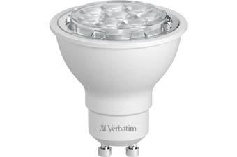 65171 VERBATIM Par16 Gu10 65W 480Lm 3000K Warm White 35 Deg  Replacement For High Voltage 66W Halogen Lamps  PAR16 GU10 65W 480LM 3000K