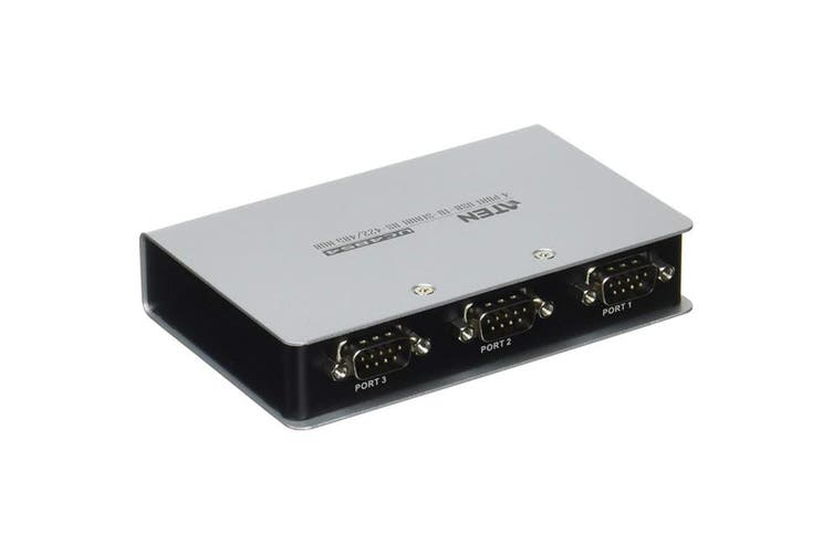 UC4854 ATEN 4 Port USB To Rs422 / 485 Hub   Converts a USB Port To a Legacy Rs-422 or Rs-485 Com Port  4 PORT USB TO RS422 / 485 HUB