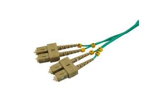 FP7660 Pro2 2M mm Fibre Patch Lead Sc-Sc Od 2.0Mm Dx 50/125 Om3 Lszh  Sc To Sc Connector  2M mm FIBRE PATCH LEAD SC-SC