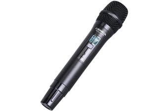WM300HTX COMICA UHF Wireless Microphone One Transmitter  Auto IR Sync  UHF WIRELESS MICROPHONE