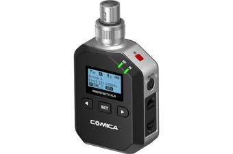 WM300XLR COMICA UHF 96Ch Wireless Microphone With XLR Transmitter  96 Channels  UHF 96CH WIRELESS MICROPHONE