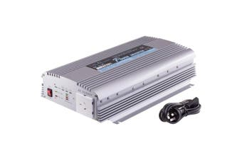 PIN1000C DOSS 1000W 12Vdc-240Ac Inverter With Battery/Solar Inputs  12V 3A Battery Charger With Indicator  1000W 12VDC-240AC INVERTER
