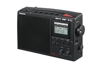 DPR45 SANGEAN AM/DAB+/FM Portable Portable  Radio  Sangean  Unique 3 Band Tuner Allows Access To All Radio Bands  AM/DAB+/FM PORTABLE