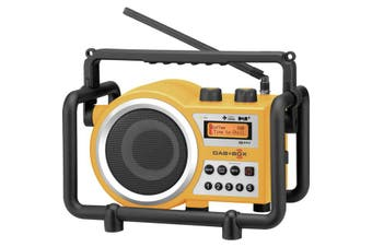 DABBOXY SANGEAN DAB+ Tough Utility Radio Sangean  Digital Pll Tuner FM and DAB+  DAB+ TOUGH UTILITY RADIO