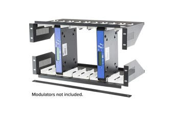 ZC10PK RESI-LINX Rack Shelf Kit For Modulators 10 Units Shelf Kit For Hd1603 ZC-10PK  Comes With Top & Bottom Shelf + Cross Bar + 10 Protection Pad  RACK SHELF KIT FOR MODULATORS