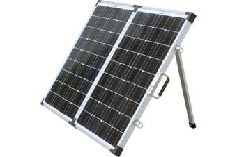 6584 SOLARKING 120W Folding Solar Panel Solarking 6594  Compact, Sturdy and Lightweight  120W FOLDING SOLAR PANEL