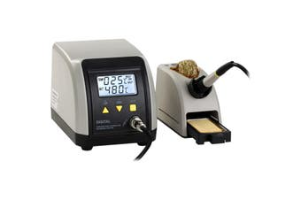 ZD8916ESD DOSS Esd Soldering Station With LCD 24V 60W Soldering Iron  Quick Heat Up  ESD SOLDERING STATION WITH LCD