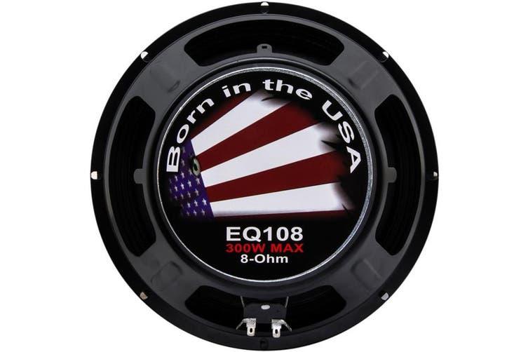 "EQ10-8 EARTHQUAKE 10"" Woofer -Vented Basket 10"" Woofer, 200W, 8Ohm EQ10-8  300 Watt Max  10"" WOOFER -VENTED BASKET"