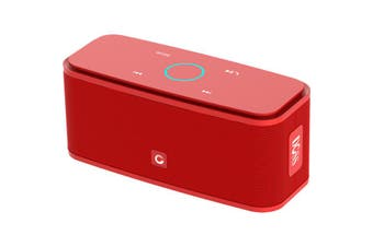 DS1681RED DOSS Soundbox Bluetooth Speaker Touch Bt4.0 HD Portable Red  Wireless and Portable  SOUNDBOX BLUETOOTH SPEAKER