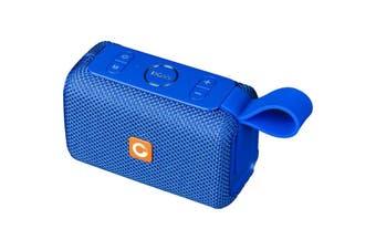 WB97BLU DOSS E-Go Bluetooth Speaker Ipx6 Waterproof Blue  Bluetooth 4.1  E-GO BLUETOOTH SPEAKER