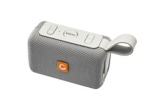 WB97GRY DOSS E-Go Bluetooth Speaker Ipx6 Waterproof Grey  Bluetooth 4.1  E-GO BLUETOOTH SPEAKER