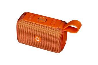 WB97ORA DOSS E-Go Bluetooth Speaker Ipx6 Waterproof Orange  Bluetooth 4.1  E-GO BLUETOOTH SPEAKER